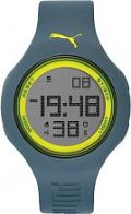 Unisex Puma PU91080 - grey yellow Alarm Chronograph