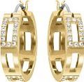 Ladies' Swarovski PVD Gold plated Cubist Earrings