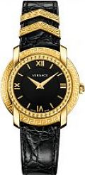 Ladies' Versace Dv25 Round 36Mm