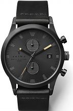 Mens Triwa Sort of Black Lansen Chrono Chronograph Watch LCST105CS010113