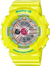 Ladies Casio Baby-G Alarm Chronograph Watch BA-110CA-9AER