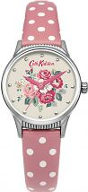 Ladies Cath Kidston Forest Bunch Pink Spot Strap Watch CKL012PS