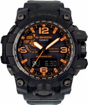 Mens Casio G-Shock x Maharishi Mudmaster British Bonsai Forest Alarm Chronograph Radio Controlled Watch GWG-1000MH-1AER