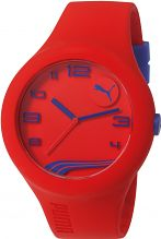 Mens Puma PU10321 FORM XL - red navy Watch PU103211022