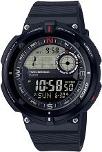 Mens Casio Classic Travel World Time Compass Alarm Chronograph Watch SGW-600H-1BER