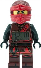 Childrens LEGO Ninjago Time Twins Kai Minifigure Alarm Clock 9009280
