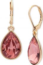 Ladies Nine West Gold Plated Drop Earrings 60459582-D99