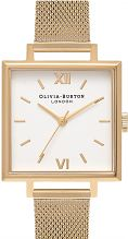 Ladies Olivia Burton Big Dial Square Dials Watch OB16SS11