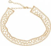 Ladies Anne Klein Gold Plated Just Shine Choker Necklace 60466569-887