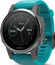 Unisex Garmin fenix 5S Bluetooth GPS HRM Alarm Chronograph Watch 010-01685-01
