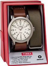 Mens Timex Scout Box Set Watch TWG016100