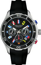 Mens Nautica NST12 Flag Chronograph Watch NAD16537G