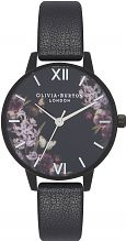 Ladies Olivia Burton After Dark Black & Black IP Watch OB16AD22
