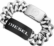 Mens Diesel Stainless Steel Bracelet DX0019040