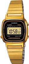 Ladies Casio Collection Alarm Watch LA670WEGA-1EF