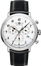 Mens Zeppelin Hindenburg Chronograph Watch 7086-1