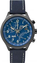Mens Timex Indiglo Intelligent Quartz Chronograph Watch T2P380