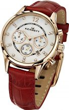 Ladies Kennett Lady Savro Chronograph Watch LWSAVWHGOLRD
