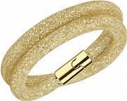 Ladies Swarovski PVD Gold plated Stardust Deluxe Bracelet M 5159277