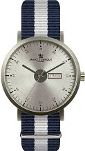 Mens Smart Turnout City Watch - Silver Yale University Watch STG1/SV/56/W-YALE