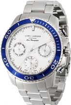 Mens Lars Larsen Chronograph Watch 140SSDSB