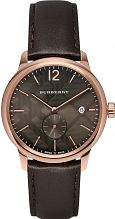 Mens Burberry Classic Round Watch BU10012