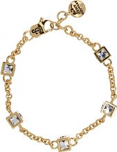 Ladies Juicy Couture PVD Gold plated ICONIC CUBES BRACELET WJW776-710