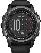 Unisex Garmin Fenix 3 Sapphire HR Performer Bundle Alarm Chronograph Watch 010-01338-74