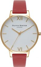 Ladies Olivia Burton Big White Dial Watch OB15BDW01