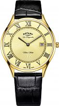 Mens Rotary Swiss Made Ultra Slim Quartz Watch GS90803/03