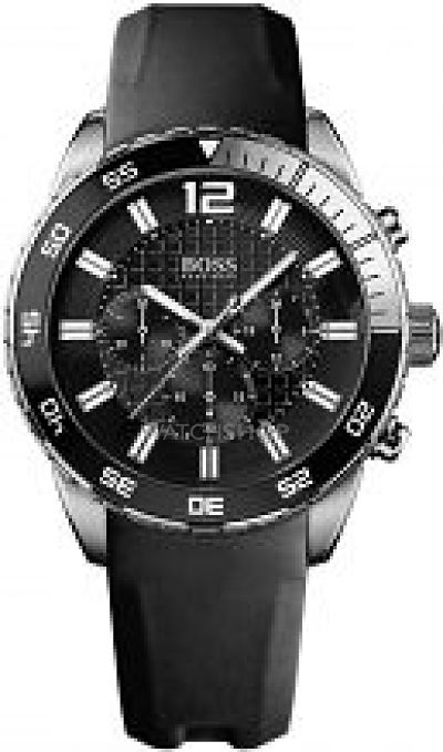 23d14b501 Buy Hugo Boss Men's Chronograph Watch 1512804 at £295.00 from WatchShop
