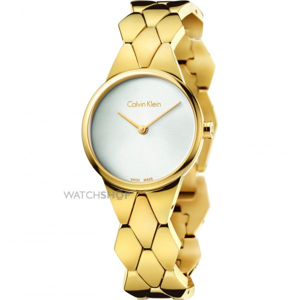 Ladies Calvin Klein Snake Watch K6E23546