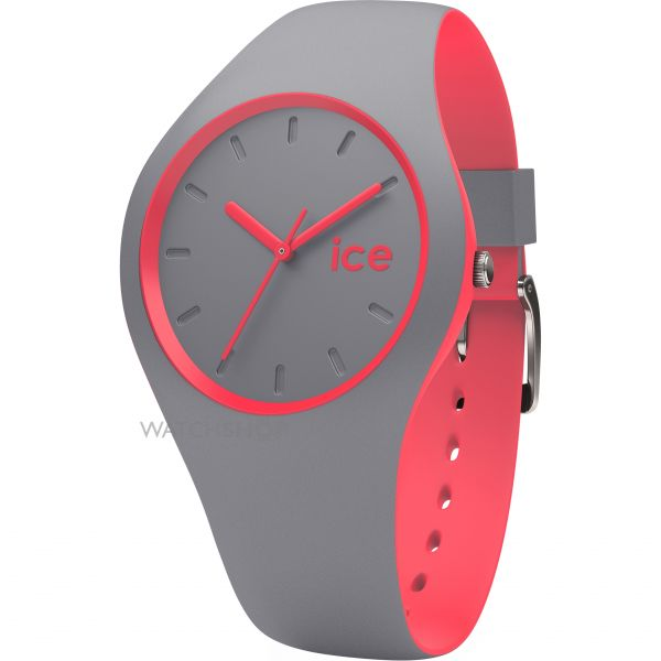 Unisex Ice-Watch Duo Grey-Coral Watch DUO.DCO.U.S.16