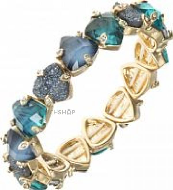 Ladies Lonna And Lilly Gold Plated Midnight Hour Bracelet 60441218-284