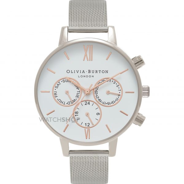 Ladies Olivia Burton Chrono Detail Chronograph Watch OB16CG87