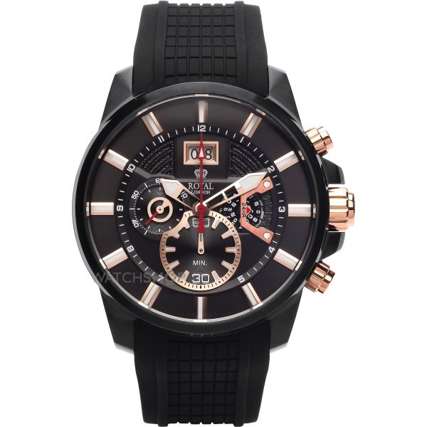 Mens Royal London Chronograph Watch 41348-03