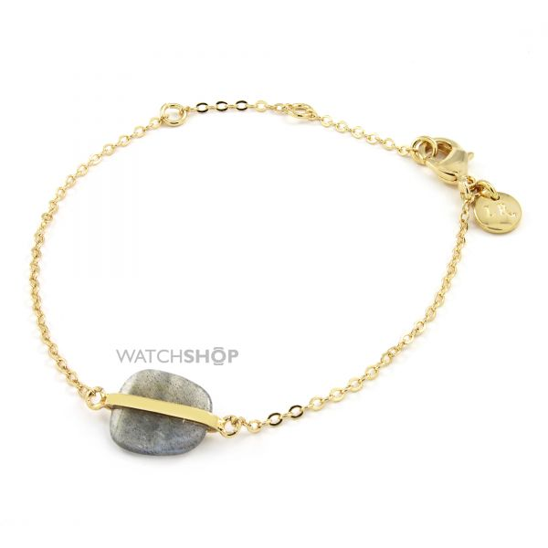 Ladies Lola Rose Gold Plated Labradorite Bassa Mini Bracelet 580649