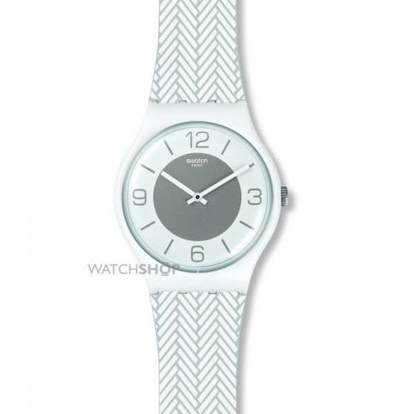 Unisex Swatch White Glove Watch SUOW131