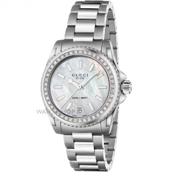 Ladies Gucci Gucci Dive Watch YA136406