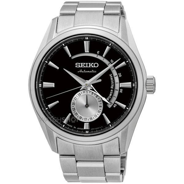 Mens Seiko Presage Automatic Watch SSA305J1