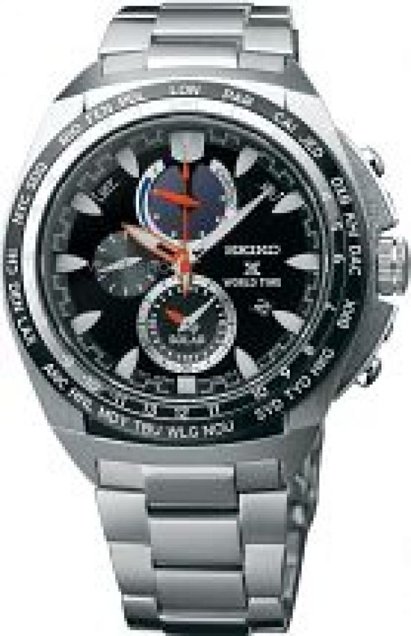 Mens Seiko Prospex Chronograph Solar Powered Watch SSC487P1