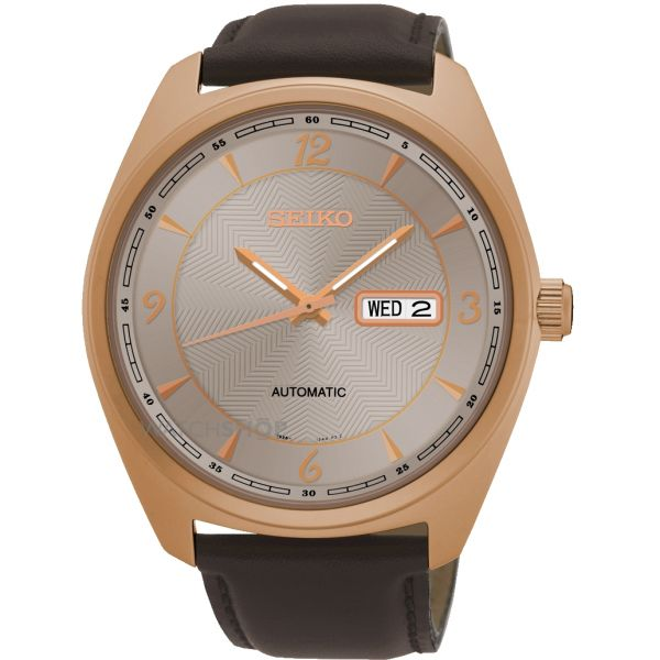 Mens Seiko Automatic Watch SNKN72P9