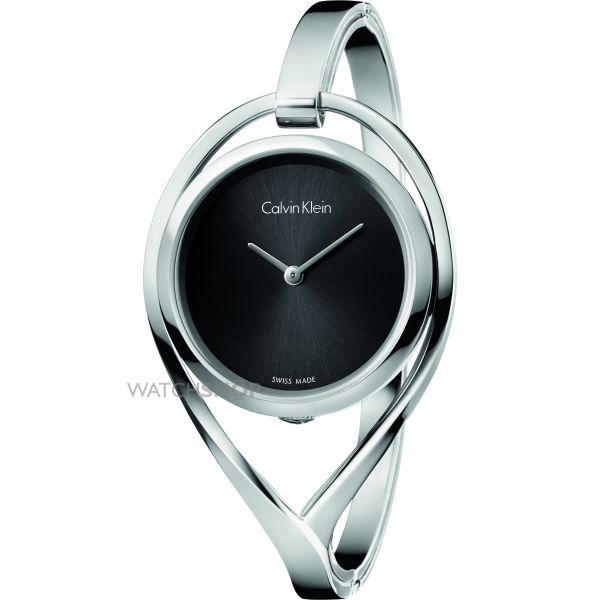 Ladies Calvin Klein Light Small Bangle Watch K6L2S111