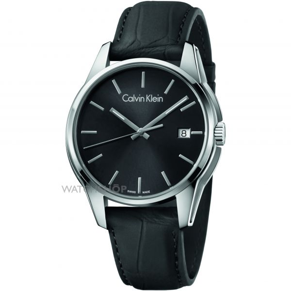 Mens Calvin Klein Tone Watch K7K411C1