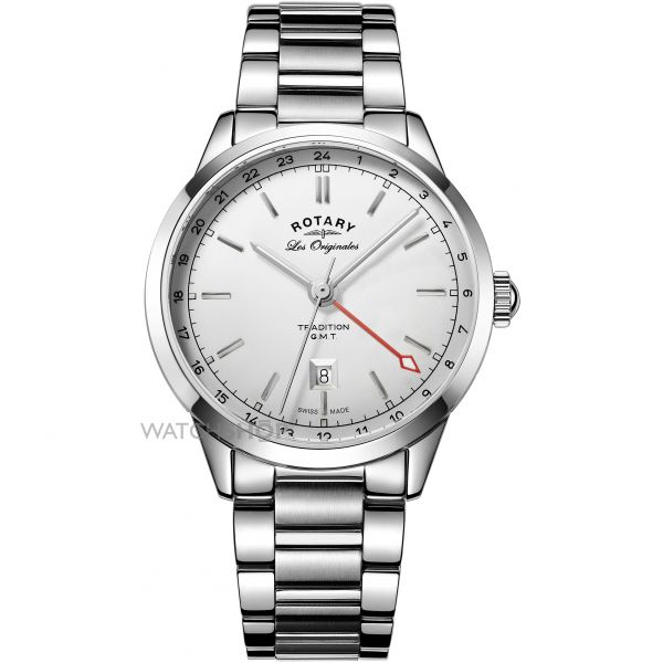 Mens Rotary Swiss Made Tradition Quartz Watch GB90181/02