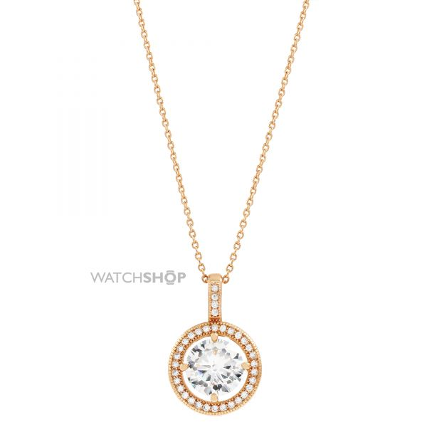 Ladies Anne Klein PVD rose plating Necklace 60422595-9DH