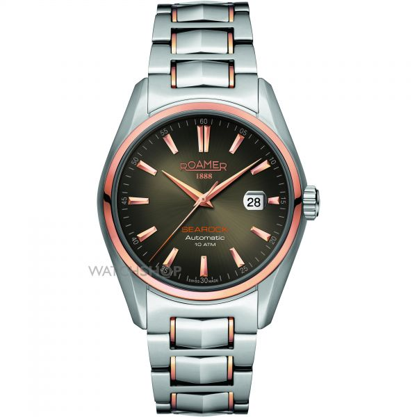 Mens Roamer Searock Automatic Automatic Watch 210633490220