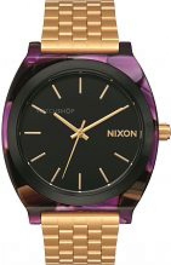 Ladies Nixon The Time Teller Acetate Watch A327-2483