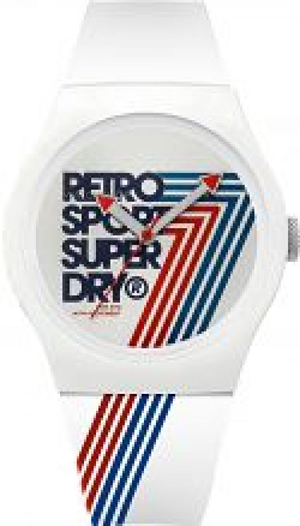 Unisex Superdry Urban Retro Watch SYG181W