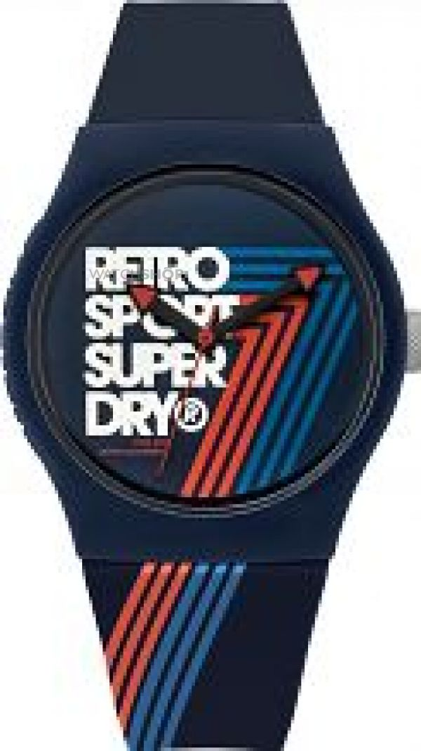 Mens Superdry Urban Retro Watch SYG181U
